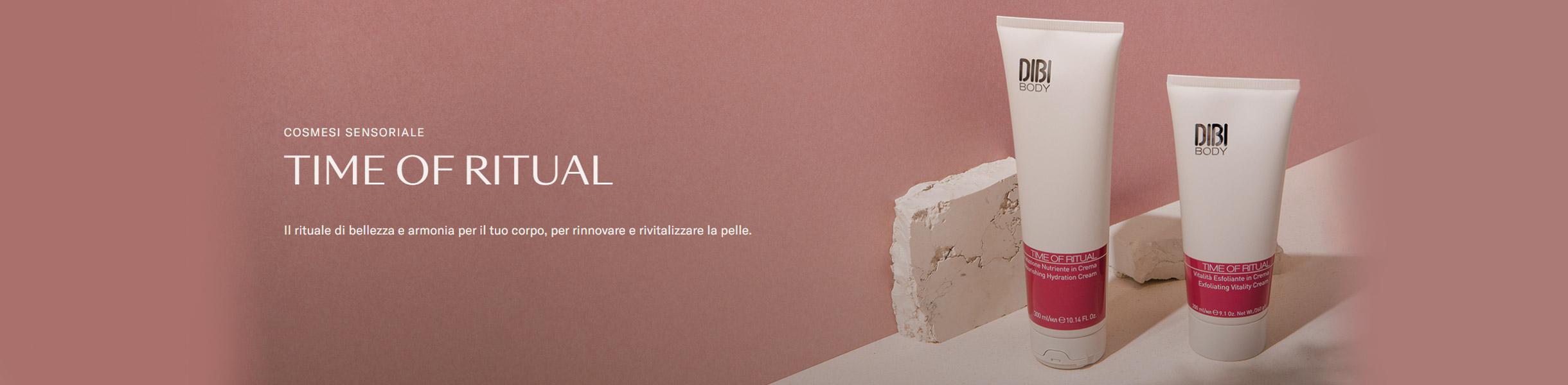 TIME OF RITUAL - TRATTAMENTI DI BELLEZZA CORPO