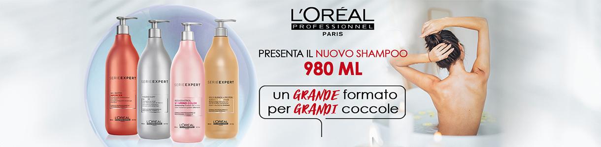SERIE EXPERT - SHAMPOO GRANDI FORMATI