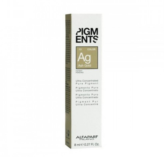 ALFAPARF PIGMENTS AG ASH GOLD .13  8 ml / 0.27 Fl.Oz