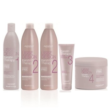 ALFAPARF LISSE KIT SMOOTHING TREATMENT