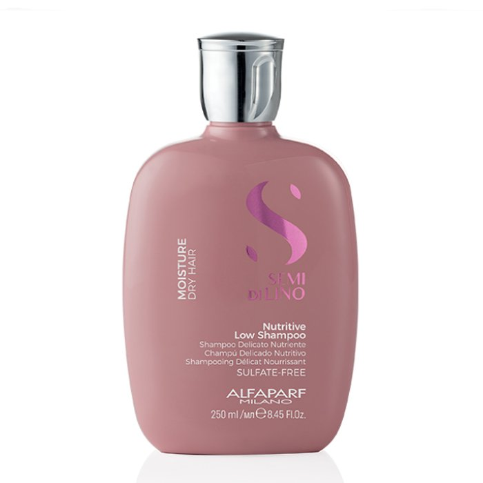 ALFAPARF - SEMI DI LINO NUTRITIVE LOW SHAMPOO 250 ml / 8.45 Fl.Oz