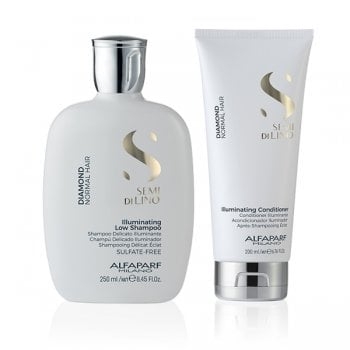KIT ALFAPARF - SEMI DI LINO DIAMOND SHAMPOO E CONDITIONER