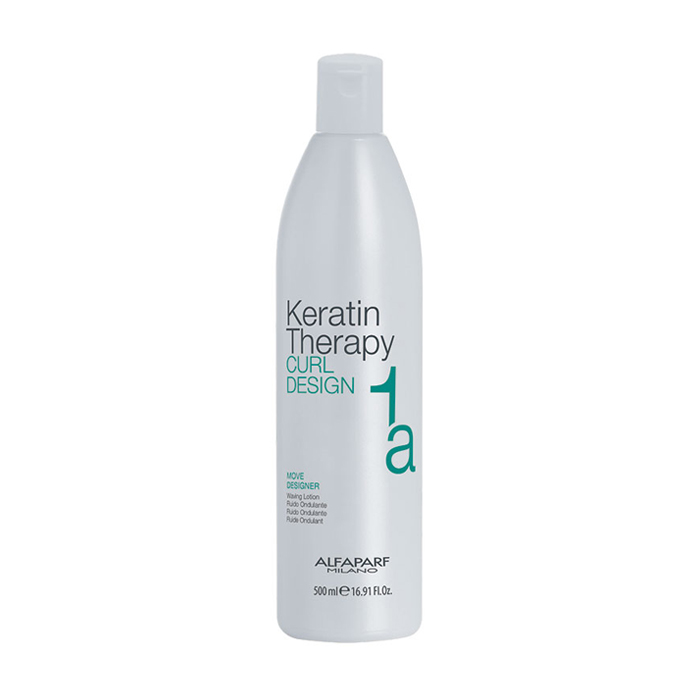 ALFAPARF KERATIN THERAPY CURL DESIGN MOVE DESIGNER 1a 500 ml / 16.90 Fl.Oz