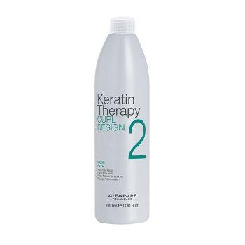 ALFAPARF KERATIN THERAPY CURL DESIGN MOVE FIXER 2 1000 ml / 33.80 Fl.Oz
