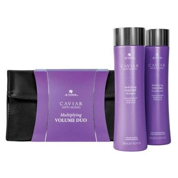 KIT ALTERNA -  CAVIAR ANTI-AGING MULTIPLYING VOLUME CAPELLI FINI