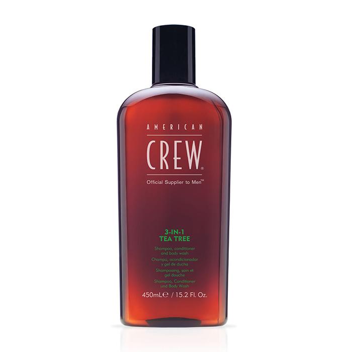 AMERICAN CREW 3 IN 1 TEA TREE 450 ml / 15.21 Fl.Oz