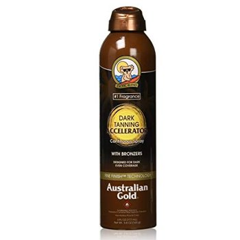 AUSTRALIAN GOLD DARK TANNING ACCELERATOR CONTINUOUS SPRAY 177 ml / 6.00 Fl.Oz