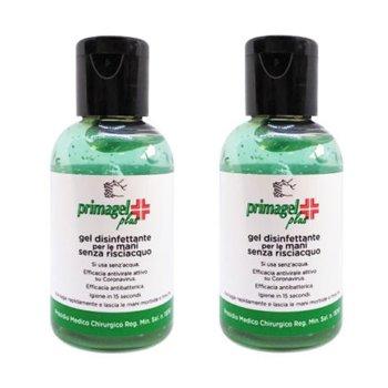 PRIMAGEL PLUS - GEL DISINFETTANTE MANI 50 ml / 1.70 Fl.Oz - MULTIPACK 2 PZ