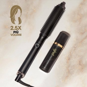 GHD RISE - SPAZZOLA VOLUMIZZANTE E GHD ROOT LIFT SPRAY 100 ml OMAGGIO