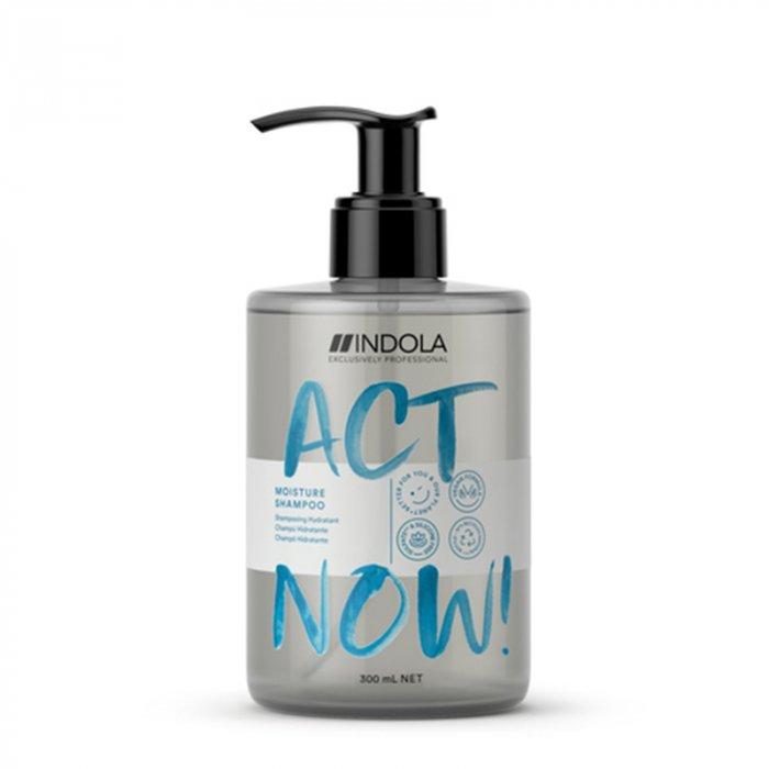 INDOLA ACT NOW MOISTURE SHAMPOO 300 ml / 10.10 Fl.Oz