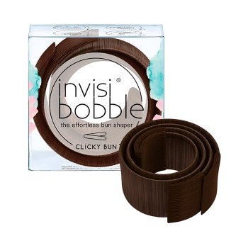 INVISIBOBBLE CLICKY BUN PRETZEL BROWN