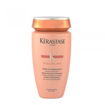 KERASTASE BAIN FLUIDEALISTE FOR UNRULY OVER PROCESSED HAIR 250 ml / 8.45 Fl.Oz