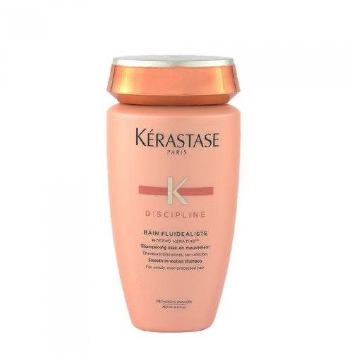 KERASTASE BAIN FLUIDEALISTE FOR UNRULY OVER PROCESSED HAIR 250 ml / 8.45 Fl.Oz
