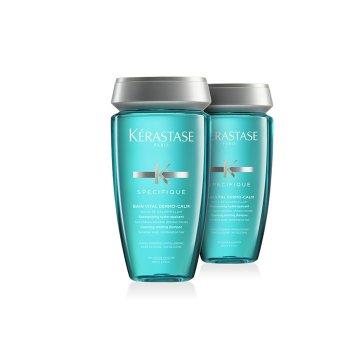 KERASTASE BAIN VITAL DERMO CALM 250 ml / 8.45 Fl.Oz - MULTIPACK 2 PZ
