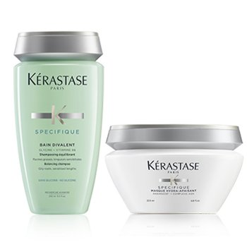 KERASTASE KIT KERASTASE - ANTI OILINESS TREATMENT