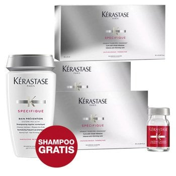 KERASTASE - PROGRAMMA ANTICADUTA (30 FIALE + BAIN PREVENTION in OMAGGIO)