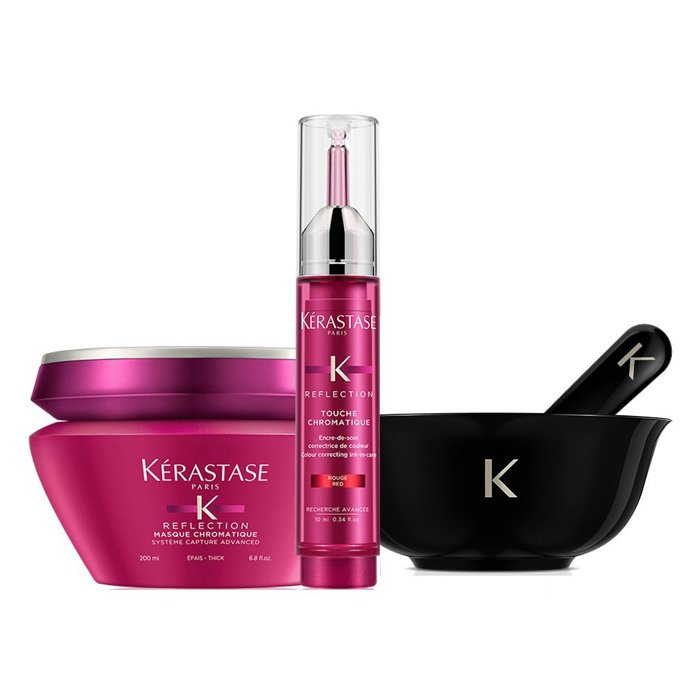 KERASTASE - TOUCHE CHROMATIQUE BOX (MASQUE GROSSI 200 ml E TOUCHE COOL BLOND 10 ml)