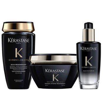KERASTASE - CHRONOLOGISTE KIT BAIN - MASQUE - HUILE