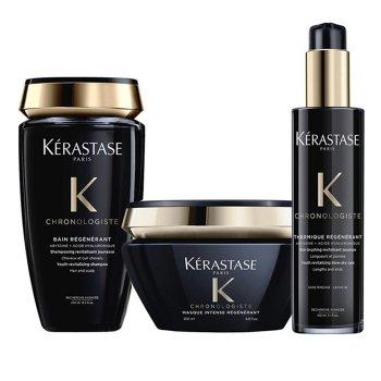 KERASTASE - CHRONOLOGISTE KIT BAIN - MASQUE - THERMIQUE