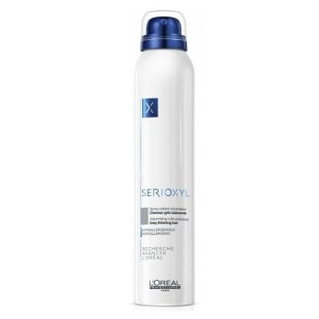 L'OREAL SERIOXYL VOLUMISING COLOURED SPRAY GRAY - COLOR GRIGIO 200 ml / 6.75 Fl.Oz