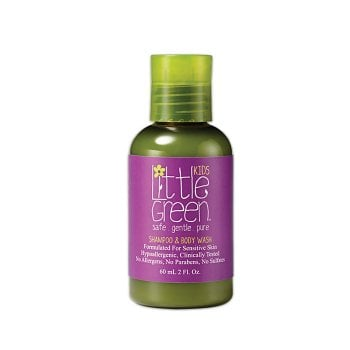 LITTLE GREEN KIDS SHAMPOO E BODY WASH 60 ml / 2.00 Fl.Oz