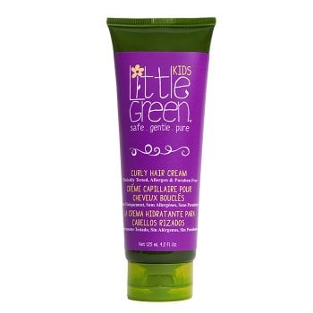 LITTLE GREEN KIDS CURLY HAIR CREAM 125 ml / 4.20 Fl.Oz