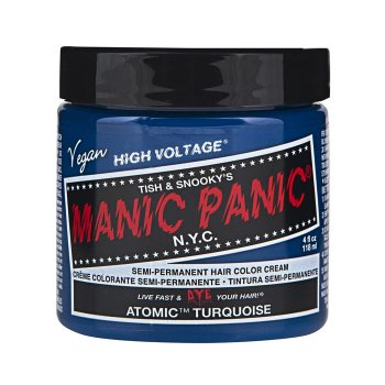 MANIC PANIC CLASSIC HIGH VOLTAGE ATOMIC TURQUOISE 118 ml / 4.00 Fl.Oz