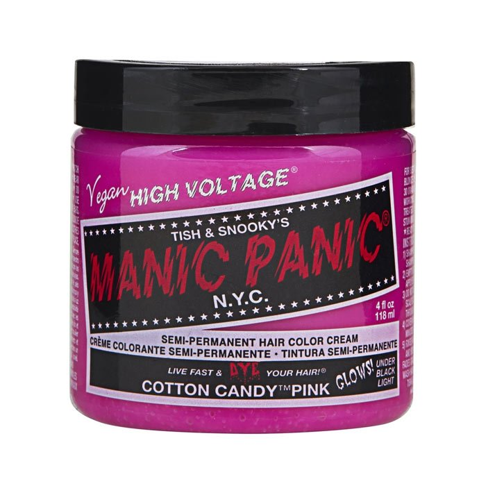 MANIC PANIC CLASSIC HIGH VOLTAGE COTTON CANDY PINK 118 ml / 4.00 Fl.Oz
