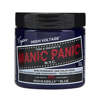 MANIC PANIC CLASSIC HIGH VOLTAGE ROCKABILLY BLUE 118 ml / 4.00 Fl.Oz