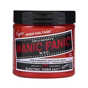 MANIC PANIC CLASSIC HIGH VOLTAGE ELECTRIC TIGER LILY 118 ml / 4.00 Fl.Oz