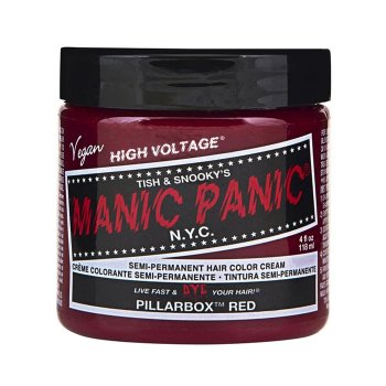 MANIC PANIC CLASSIC HIGH VOLTAGE PILLARBOX RED 118 ml / 4.00 Fl.Oz