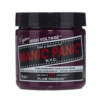 MANIC PANIC CLASSIC HIGH VOLTAGE PLUM PASSION 118 ml / 4.00 Fl.Oz