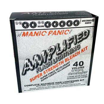 MANIC PANIC FLASH LIGHTNING BLEACH 40 VOLUME BOX KIT