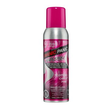 MANIC PANIC AMPLIFIED COTTON CANDY PINK TEMPORARY SPRAY 100 ml / 3.38 Fl.Oz