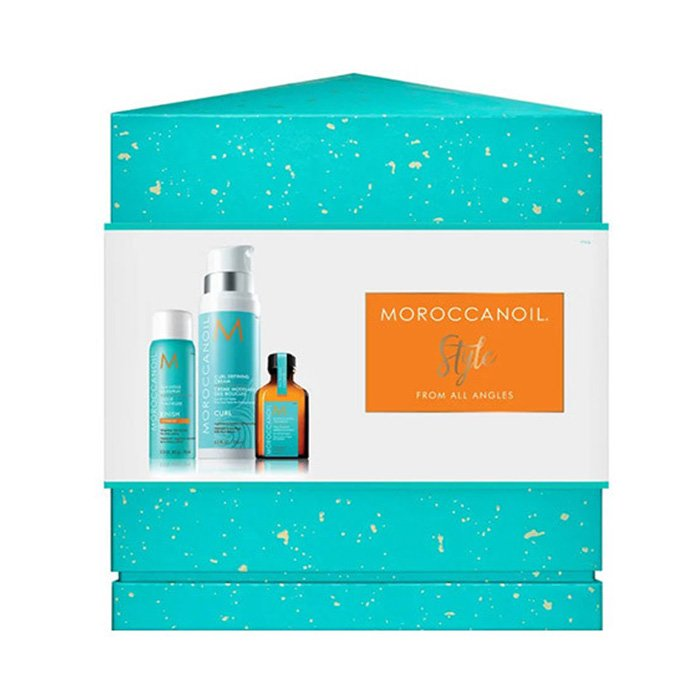 KIT MOROCCANOIL - STYLE FROM ALL ANGLES