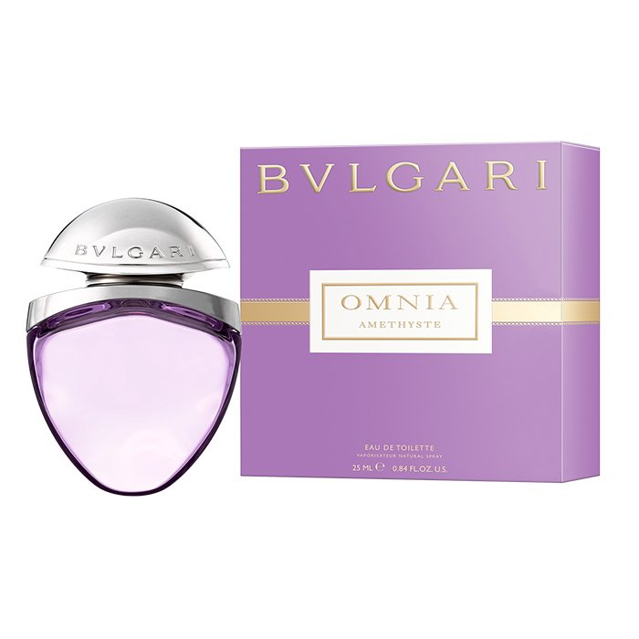 BULGARI OMNIA AMETHISTE EAU DE TOILETTE SPRAY 25 ML