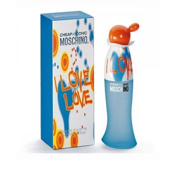 MOSCHINO I LOVE LOVE EAU DE TOILETTE SPRAY 30ML