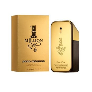 1 MILLION PACO RABANNE EAU DE TOILETTE SPRAY 50ML