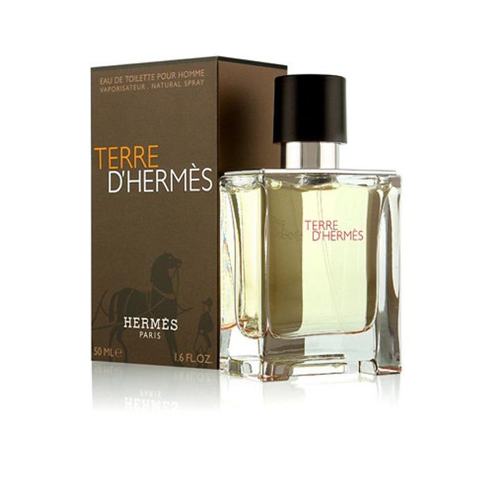 TERRE D'HERMES 50ML - EAU DE TOILETTE SPRAY