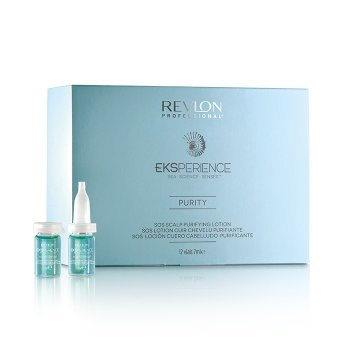 REVLON PROFESSIONAL EKSPERIENCE PURITY SOS SCALP PURIFYING LOTION 12 fl x 7 ml / 0.34 Fl.Oz