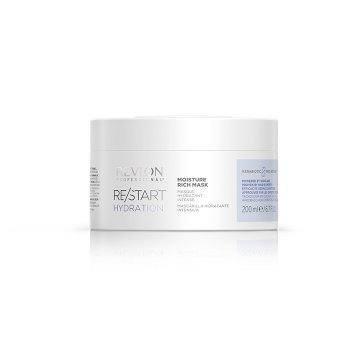 REVLON PROFESSIONAL RESTART HYDRATION MOISTURE RICH MASK 200 ml / 6.70 Fl.Oz