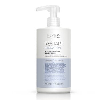 REVLON PROFESSIONAL RESTART HYDRATION MOISTURE MELTING CONDITIONER 750 ml / 25.30 Fl.Oz