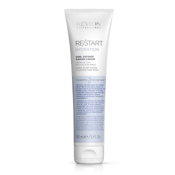 REVLON PROFESSIONAL RESTART HYDRATION CURL DEFINER CARING CREAM 150 ml / 5.00 Fl.Oz