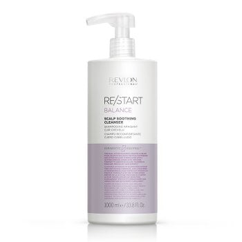 REVLON PROFESSIONAL RESTART BALANCE SCALP SOOTHING CLEANSER 1000 ml / 33.80 Fl.Oz