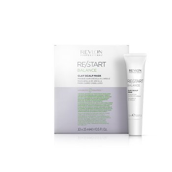 REVLON PROFESSIONAL RESTART BALANCE CLAY SCALP MASK 10 fl x 15 ml / 0.50 Fl.Oz