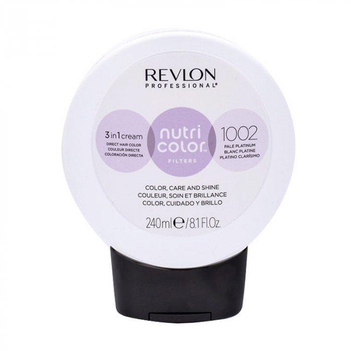 REVLON PROFESSIONAL NUTRI COLOR FILTERS 1002 - PLATINO CHIARO 240 ml / 8.10 Fl.Oz