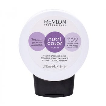REVLON PROFESSIONAL NUTRI COLOR FILTERS 1022 - PLATINO INTENSO 240 ml / 8.10 Fl.Oz