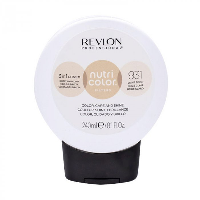 REVLON PROFESSIONAL NUTRI COLOR FILTERS 931 - BEIGE CHIARO 240 ml / 8.10 Fl.Oz