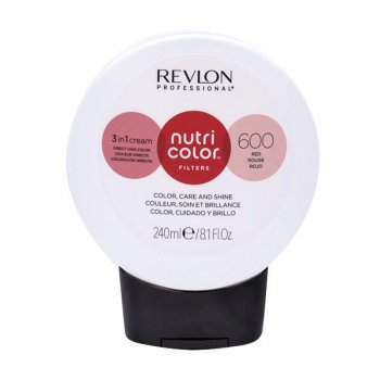 REVLON PROFESSIONAL NUTRI COLOR FILTERS 600 - ROSSO 240 ml / 8.10 Fl.Oz