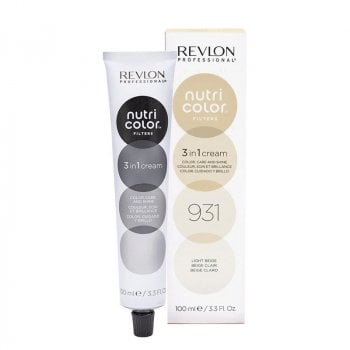 REVLON PROFESSIONAL NUTRI COLOR FILTERS 931 - LIGHT BEIGE 100 ml / 3.30 Fl.Oz